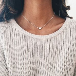 Jewelry - 4/$25 Dainty Heart Necklace